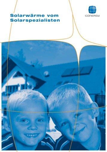 Solarwärme vom Solarspezialisten - Glingener GmbH