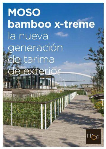 MOSO catálogo técnico Bamboo X-treme - MOSO Bambú