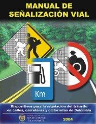 Manual de señalización vial - Instituto Nacional de Vías