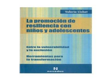 Promoción de resiliencia Cap. 4