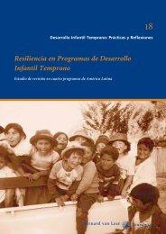 Resiliencia en Programas de Desarrollo Infantil Temprano
