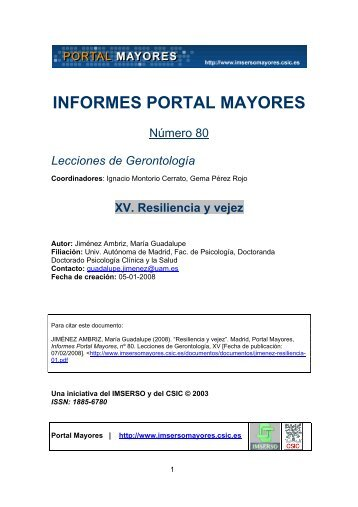 versión pdf - Portal Mayores