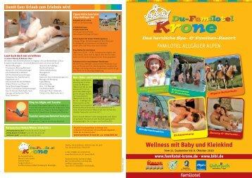 Wellness mit Baby & Kleinkind - Du-Familotel Krone