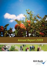Annual Report 2009 - GLS Bank