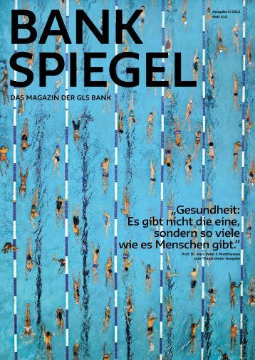Bankspiegel 2/2012 - GLS Bank
