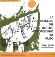 La vulnerabilidad del Distrito Metropolitano de Quito - IRD