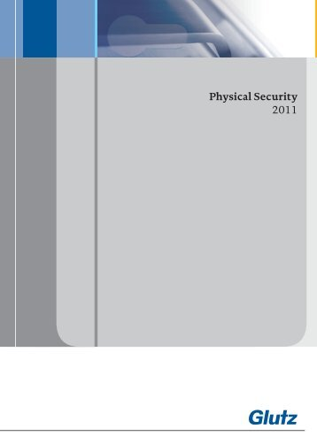 Physical Security UK (PDF) - Glutz