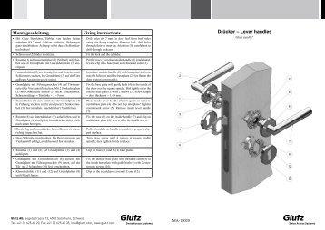 Drücker Easyfix (PDF) - Glutz