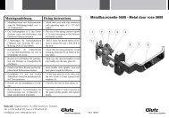 Rohrrahmenrosette 5608 Federunterstützung (PDF) - Glutz