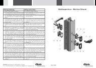Rohrrahmengarnituren 5610-5311 (PDF) - Glutz
