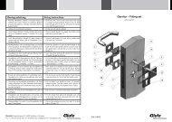 Rosettengarnitur eckig (PDF) - Glutz