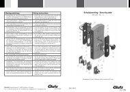 Schutzbeschlag DIN 18257 ES1-L rund (PDF) - Glutz