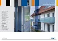 Reference building 'Hofstatt' multi-family house - Glutz