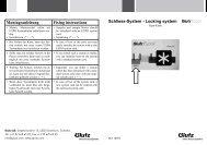 Eypos Expo Karte (PDF) - Glutz