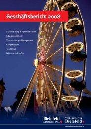 Geschäftsbericht 2008 - Bielefeld Marketing Gmbh