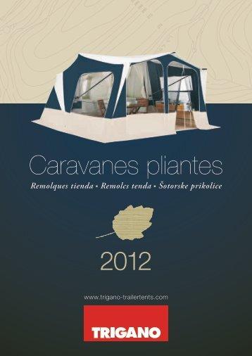 2012 Caravanes pliantes - De Vouwwagenspecialist