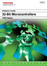 PRODUCT GUIDE 32-Bit Microcontrollers - Glyn