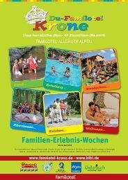Familien-Erlebnis-Wochen - Du-Familotel Krone