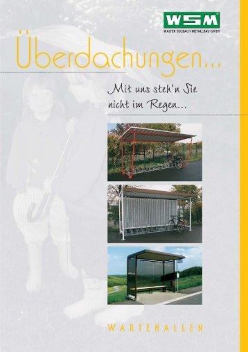 Download Prospekt Überdachungen + Wartehallen (9,62 MB)
