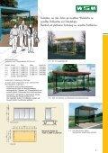 Download Prospekt Überdachungen + Wartehallen (9,62 MB) - Page 5