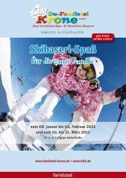 Skihaserl-Spaß für die ganze Familie für 4 - Du-Familotel Krone