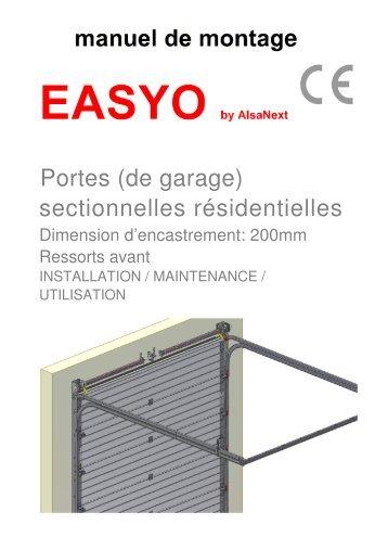 Notice technique automatisme pp60 pour porte wayne - Automatisme de porte de garage ...