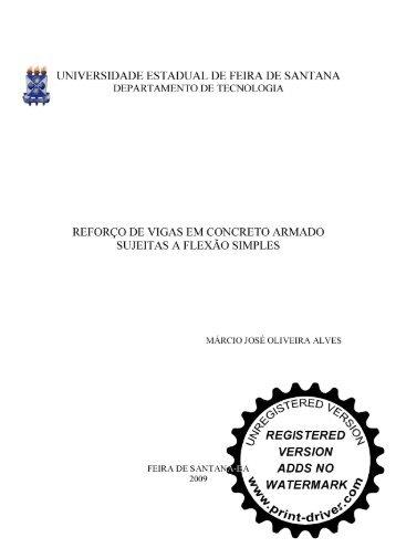 marcio josé oliveira alves - Universidade Estadual de Feira de ...