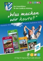 Der Freizeitführer für den Landkreis Altötting - Familienwelt-Inn ...