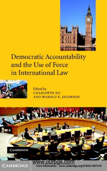 Democratic Accountability and the Use of Force in ... - ourpgs.com