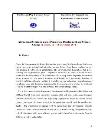 Université Cheikh Anta - LPED