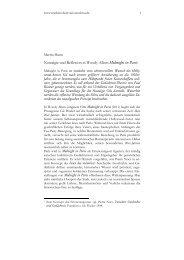 Nostalgie und Reflexion in Woody Allens Midnight in Paris