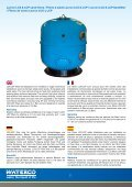 Commerical Filters Filtres pour piscines ... - Waterco Europe - Page 2