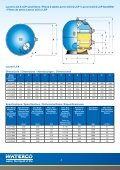 Commerical Filters Filtres pour piscines ... - Waterco Europe - Page 4
