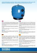 Commerical Filters Filtres pour piscines ... - Waterco Europe - Page 6