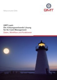 GMT|cash - Global Market Touch Research & Consulting GmbH