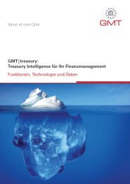 GMT|treasury - Global Market Touch Research & Consulting GmbH