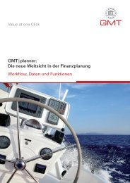 GMT|planner - Global Market Touch Research & Consulting GmbH