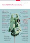 Leica TPS800 Series Stark, effizient, präzise und intuitiv - Seite 2