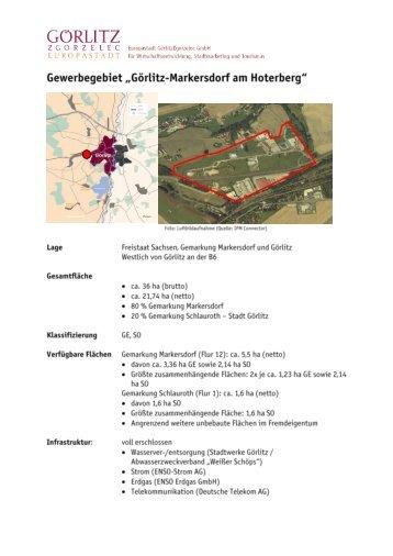 Gewerbegebiet Görlitz-Markersdorf am Hoterberg