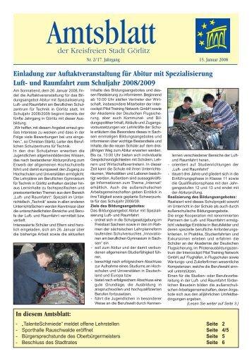 In diesem Amtsblatt - Görlitz