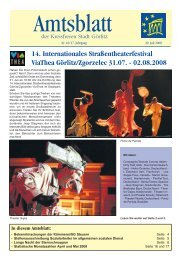 Amtsblatt der Großen Kreisstadt Görlitz, Ausgabe 2008, Nr. 16