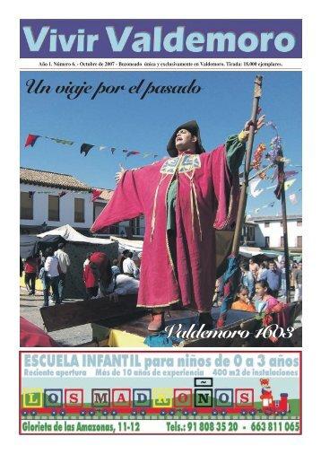 Octubre 2007 - Revista Vivir Valdemoro