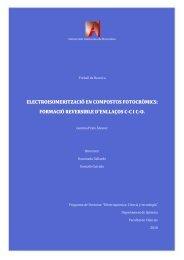electroisomerització en compostos fotocròmics - Recercat