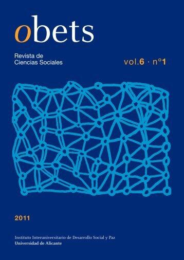 Obets - Publicaciones de la Universidad de Alicante