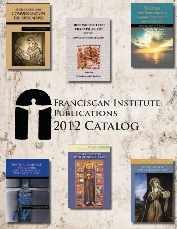 Click - Franciscan Institute Publications