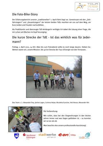 Die Foto-Bike-Story Die kurze Strecke der TdE - Ist das wirklich was ...