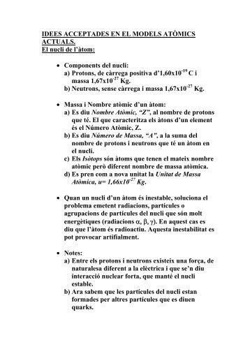 teoria atòmica (.pdf) - IES Cap de Llevant