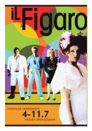 Il Figaro 2007 festivaalilehti - Kokkola Opera