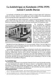 La kolektivigoj en Katalunio (1936-1939) Antoni ... - Música a la Xarxa