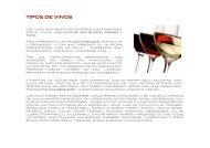 Carta de vinos LA VIBLIA